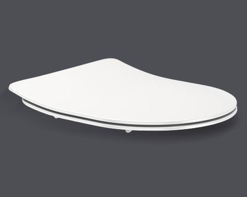 Abattant WC Jungborn Raisa blanc adapté pour Melissa, Ella, Perugia et Padova