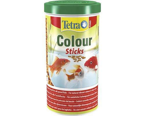 TetraPond Nourriture pour poissons Colour Sticks 1 L