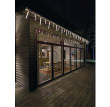 Stalactites rideau lumineux Konstsmide 32 pommes de pin 96 LED blanc chaud-thumb-0