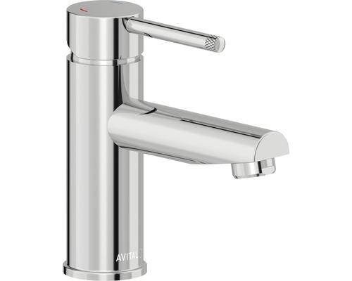 Mitigeur de lavabo AVITAL Falleron chrome, bonde de vidage incluse