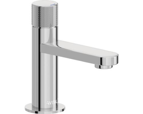 Robinet de lave-mains AVITAL Vienne chrome sans bonde de vidage