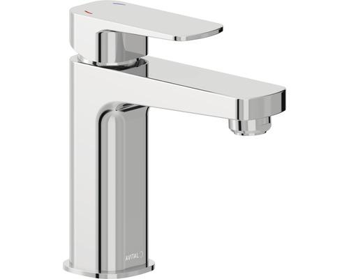 Mitigeur de lavabo AVITAL Evinos chrome, bonde de vidage incluse