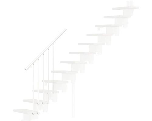Balustrade extérieure plastique blanc pour Pertura Jola droite L:125 cm