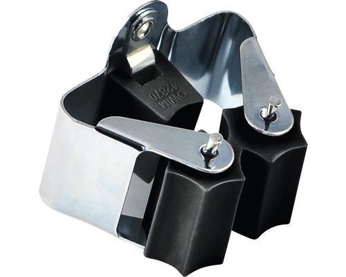 Gerätehalter für die Wand schwarz Tragkraft 2 kg