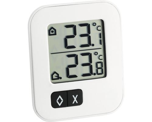 Thermomètre numérique intérieur-extérieur TFA MOXX, pile incl.