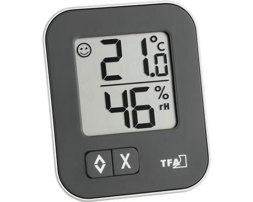 Thermo-hygromètre numérique TFA MOXX, piles incl.