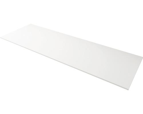 Plaque de recouvrement Solid Surface blanc largeur 141cm
