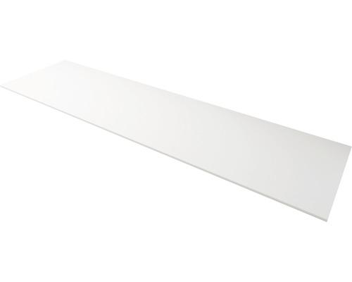 Plaque de recouvrement Solid Surface blanc largeur 176cm