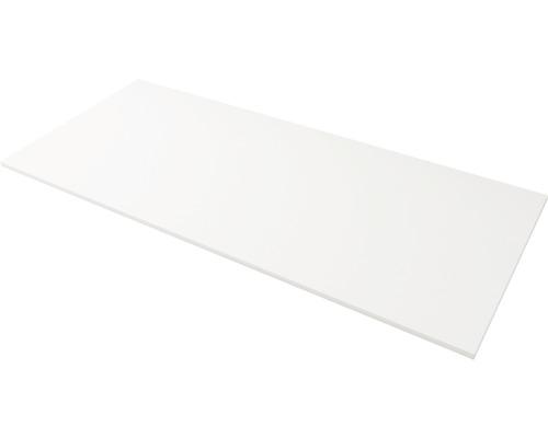 Abdeckplatte Solid Surface weiß 71 cm breit