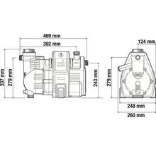 Distributeur d''eau à usage domestique GARDENA smart Pressure Pump 5000/5E-thumb-13