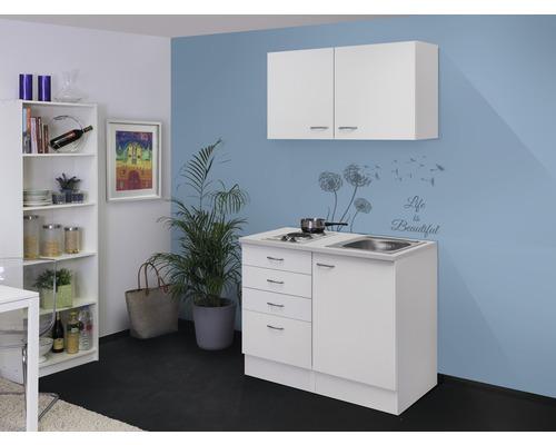 Mini-cuisine Wito 100 cm blanc avec appareils encastrés