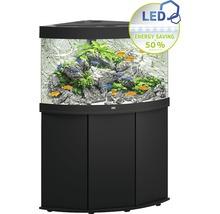 Kit complet d'aquarium JUWEL Trigon 190 SBX avec éclairage LED, filtre, chauffage et meuble bas noir-thumb-0