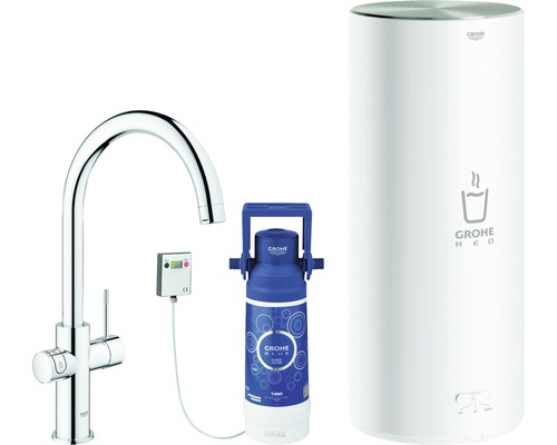 Robinet d''évier GROHE Red Duo 30079001 chrome