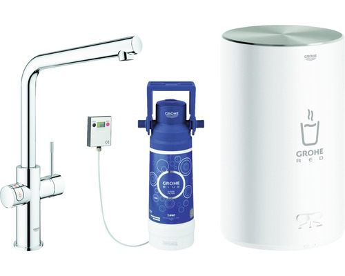 Robinet d''évier GROHE Red Duo 30327001 chrome