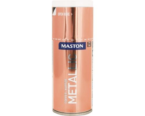 Laque à pulvériser Maston métallique ultra-brillante cuivre 150 ml