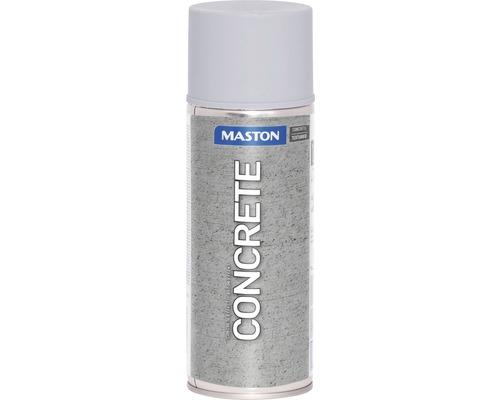 Peinture aérosol effet béton mat gris pierre 400ml