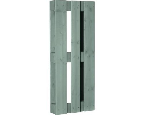 Stylepalette exclusive avec surface rabotée 100x40x12 cm vert menthe