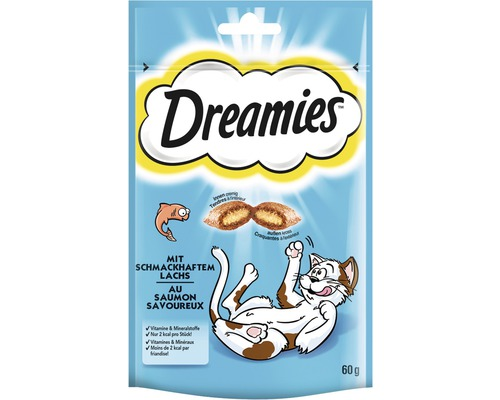 Dreamies au saumon 60 g