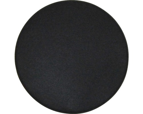 Coussins en feutre gris foncé Ø 35 cm