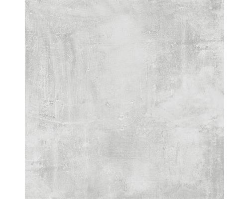 Dalle de terrasse en grès cérame fin New Concrete gris 60x60x2 cm
