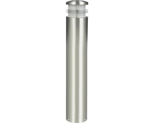 Lampadaire LED 1ampoule h 600mm Creo acier inoxydable