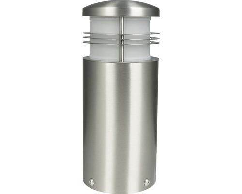 Lampadaire LED 1ampoule h 250mm Creo acier inoxydable