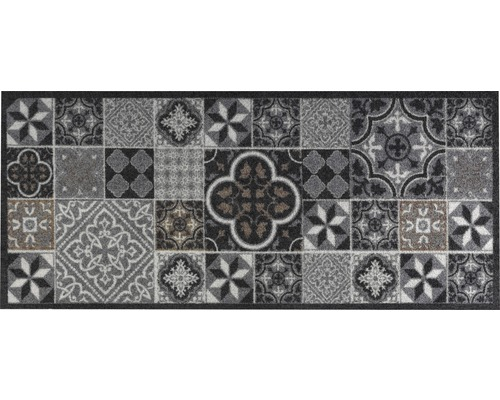 Tapis D Entree Tiles Antra Anthracite 66x150 Cm Hornbach Luxembourg