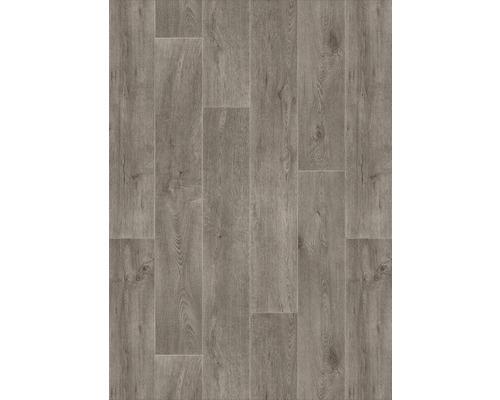 PVC Essentials aspect bois gris largeur 400 cm (marchandise au mètre)