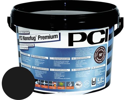 PCI Nanofug Premium Variabler Flexfugenmörtel für alle Fliesen und Natursteine schwarz 5 kg