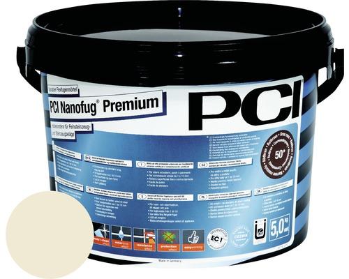 PCI Nanofug Premium Variabler Flexfugenmörtel für alle Fliesen und Natursteine jasmin 5 kg
