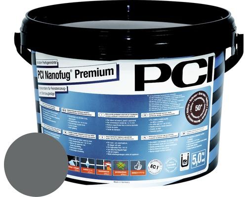 PCI Nanofug Premium Variabler Flexfugenmörtel für alle Fliesen und Natursteine basalt 5 kg