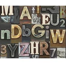 Panneau pop.up Letters marron-thumb-0
