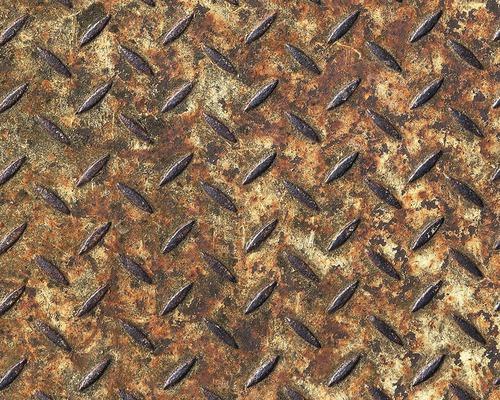 Panneau pop.up acier Vintage marron-0