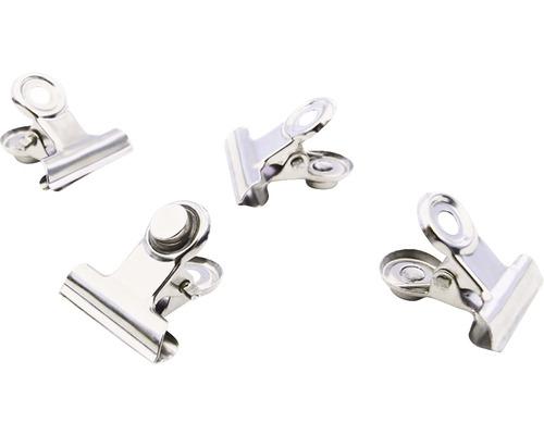 Clip magnétique Mini-Graffa set de 4 chromés