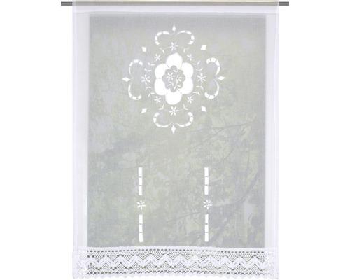 Scheibengardine Alegra weiß 60x100 cm
