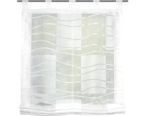 Schlaufenrollo Lara wollweiß 120X130 cm