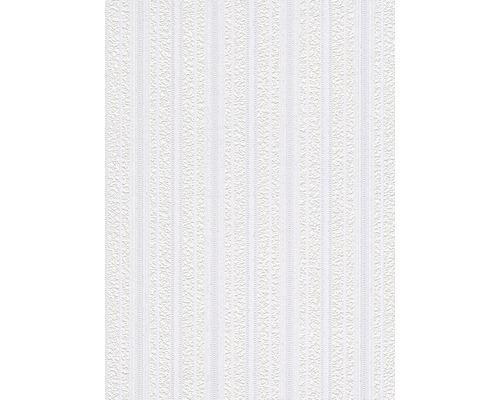 Papier peint mousse 83457 Rayures paillettes blanc