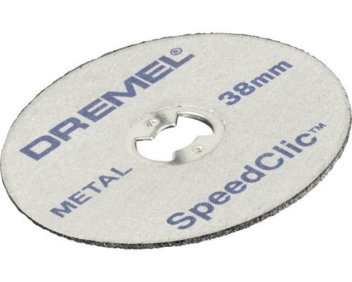 Kit de démarrage Dremel EZ SpeedClic SC406 (mandarin EZ SpeedClic, 2 disques à tronçonner pour métaux Ø 38,0 mm)