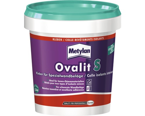 Colle pour revêtement mural Metylan Ovalit S 900 g