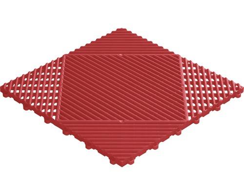 Dalle à clipser en plastique florco classic 40x40 cm rouge