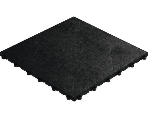 Dalle à clipser en plastique florco floor 40x40 cm noir