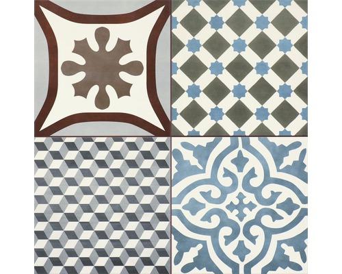 Carrelage décoratif en grès cérame Decora Stanford 45x45cm