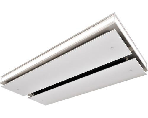 Hotte plafond RIOLA 109cm acier inoxydable/blanc
