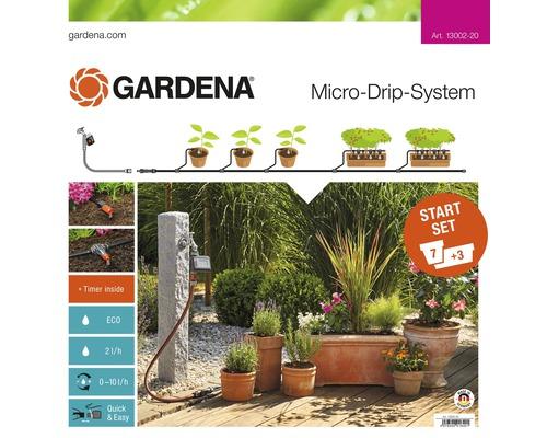 Starterkit Gardena pour les terrasses & balcons
