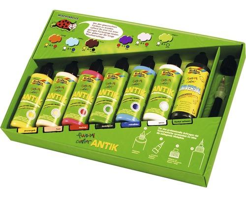 Kit Window Color Funny Color antique kit professionnel 7pièces