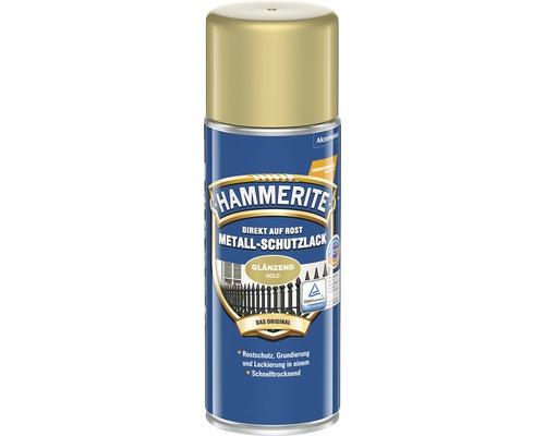 Laque de protection pour métaux HAMMERITE or brillant 400ml