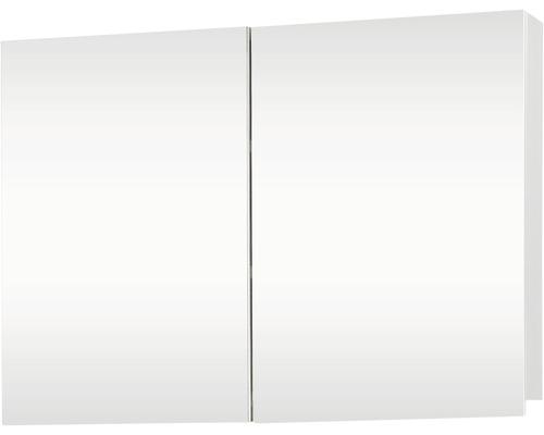 Armoire de toilette Brida blanche 2 portes 67,5x50 cm-0