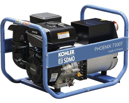 Groupe électrogène SDMO Phoenix 7300 T générateur 230V + 400V