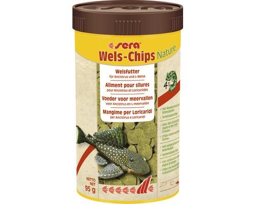 Chips de poisson-chat sera 250 ml