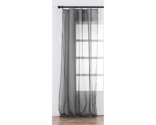 Schlaufenschal Cambric anthrazit 140x280 cm - HORNBACH Luxemburg
